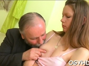 Prurient sweetheart first time slit fucked
