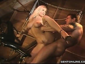 Busty Karina Gets Anal Doggystyle Fucked