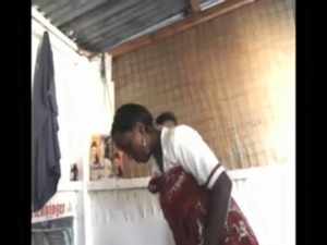 African Kenyan Girl gives massage and blowjobs free