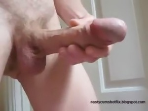 Huge Headed Deformed Monster Cock Has Massive Cumshot