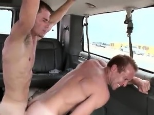 Ass pounded by tricked straight guy