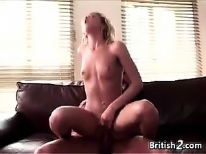 Blonde European With Small Tits Drilled