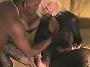 Blonde GILF Fucked By A Big Black Cock