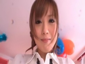 Teen asian sex doll licks and guy's body in POV free