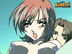 Hentai chick gets fucked in front of the cameras