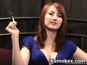 Explicit Pevert Smoking Fetish