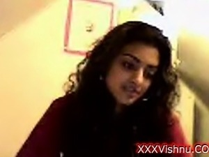 Sey young Indian babe on her webcam
