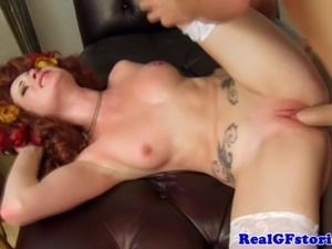 Real gf in costume drilled with cock and cant get enough