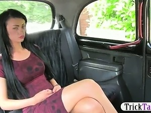 Petite Euro passenger blowjob and banged for a free ride