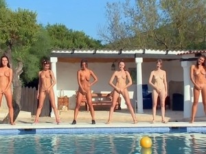 Take a look at hot lesbian sexy army with juicy