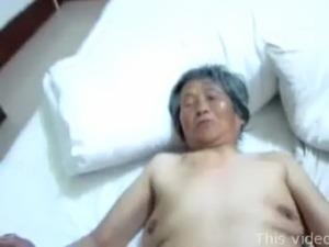 Chinese granny threesome free