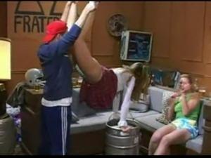 Katie Morgan in a Drunk Frathou ... free
