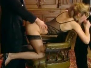 Hot Sexy Gang bang with Laure Sainclair