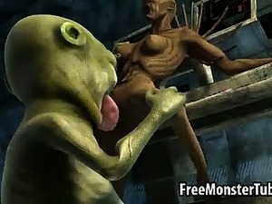 aliens force little girls porn
