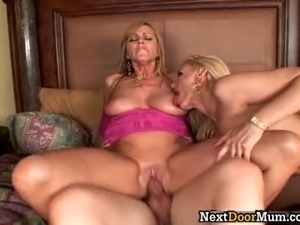 Amazing blonde babes get pounded hard part4