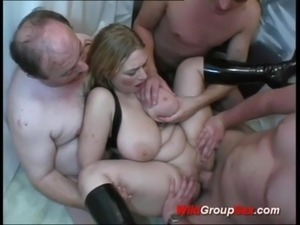 busty german in wild anal gangbang free