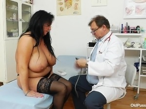 old pussy needs something to raise the pressure