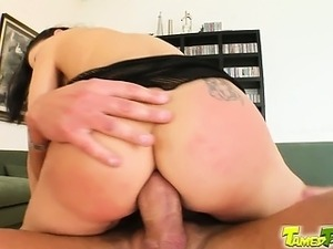 It is time for Lulu's ass to get rocked good at Tamed Teens by our horny...