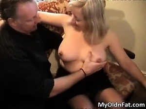 Sexy blonde MILF gets aroused for some part6