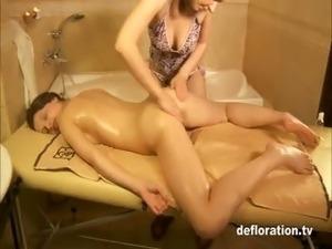Rita Ulyanova - virgin massage