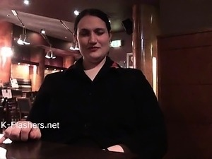 Upskirts masturbation in public