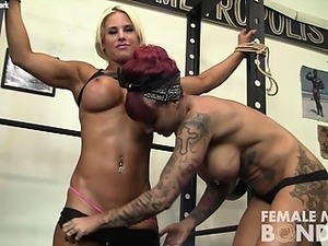 Dani and Brandimae Girl Girl in the Gym