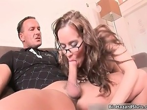 Nasty brunette slut goes crazy jerking part6
