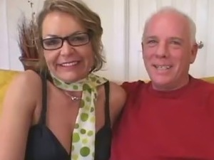 Older Mommy Seduces Young Stud