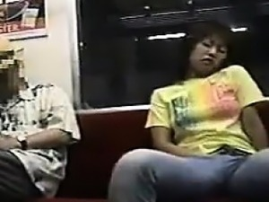 Masturbating On The Subway