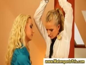 Piss shower lesbian fetish sluts free