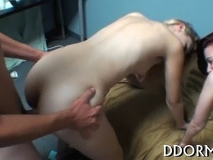 Raunchy and wanton group sex