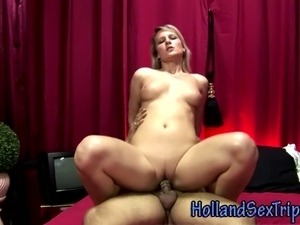Real euro hooker fucks john and gets cumshot for cash