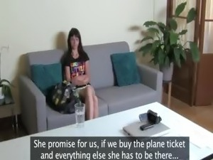 Babe havingsex during fake job interview