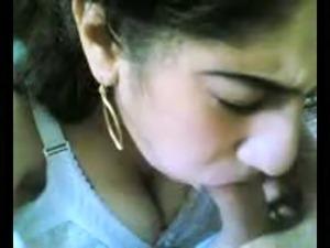 Persian Milf sucking dick and swallows