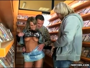 Dirty Tramp Fucked In Videoclub free
