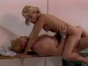 Watch Teens Tracey Adams & Nikki Charm retro hardcore.