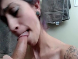 Cute girl seduces her friends husband in POV blowjob