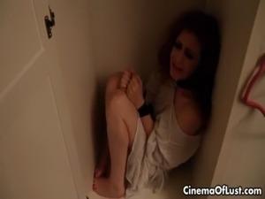 Kinky lesbian redhead abusing her sexy free