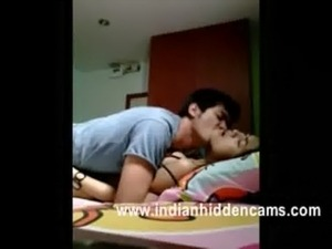 indian college couple passionate mms leaked sex in hostel recorded by hidden...
