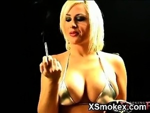 Smothering Teen Smoking Softly Fucked