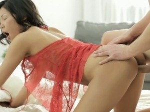 Tight Veiki Gets Pounded Hard Doggystyle