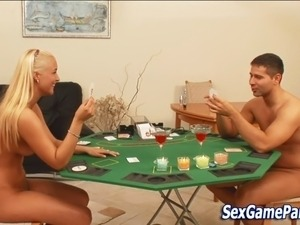 Sex game blonde fucking