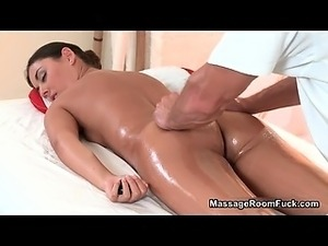 Nasty brunette half naked receive part3