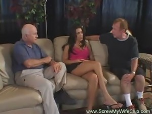 Hot Swinger Wife and Cuckold Husband