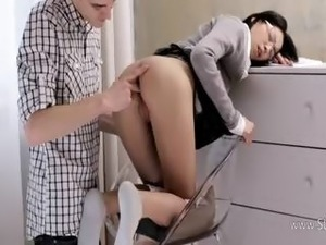 charming wow secretary fucked hard