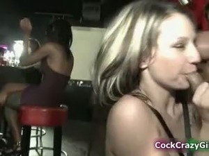 Hot blonde babes go crazy jerking part4