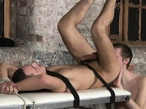 Amazing gay scene Two utterly hung boys in one video