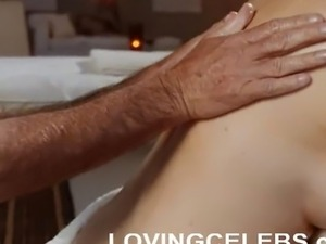 Mimi Rogers nude with big natural breasts massaged 3
