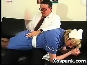 Spanking Chick In Vigorous Fetish Makeout