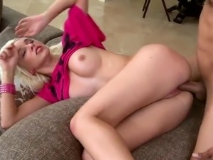 The smoking Dirty Bigtitted blondie inside act